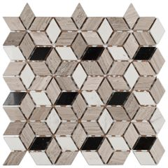 PASTILHA-GLASS-MOSAIC-MR35-MARMORE-GREY-WOOD-AJAX-NEGRO-MAQUINA-34X34