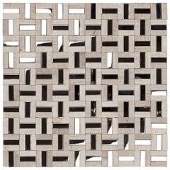 PASTILHA-GLASS-MOSAIC-MR37-MARMORE-GREY-WOOD-ACO-INOX-305X305