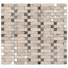 PASTILHA-GLASS-MOSAIC-MR39-MARMORE-TRAVERTINO-ACO-INOX-335X305