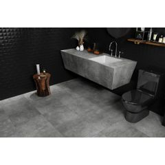 PORCELANATO ITAGRES ACTUAL SAMPA FLOOR GREY HD ACETINADO 50X50