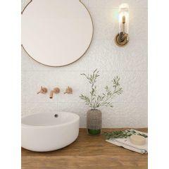 Piso-Ceramico-Porto-Ferreira-Decore-Provence-Blanc-Brilhante-25x25
