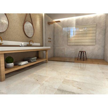 Piso-Ceramico-Itagres-Lumiere-Botticino-Classico-HD-Vitrificado-60x60