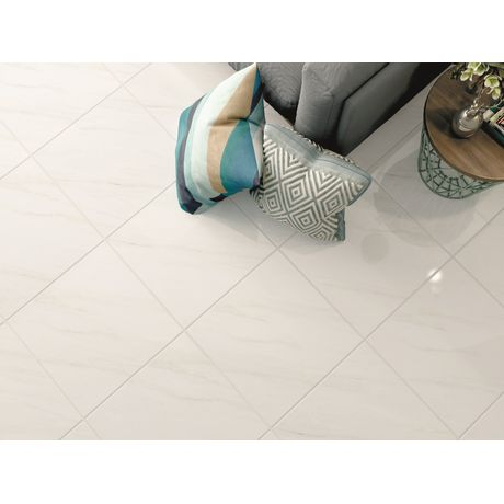 Piso-Ceramico-Lef-Marmorizados-Pedra-Bianco-Brilhante-56x56