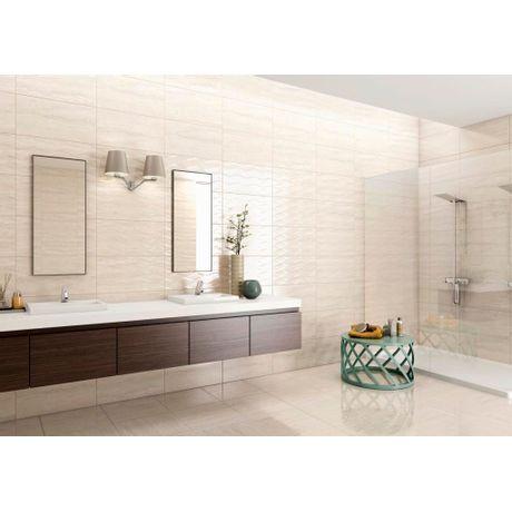 Piso-Ceramico-Lef-Marmorizados-Travertino-Brilhante-57x57