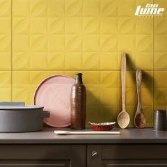 Revestimento-Ceramico-Meggagres-Botanico-Amarelo-Especial-Acetinado-45x90