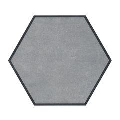Piso-Ceramico-Gabriella-Hexagonal-Cemento-Acetinado-17X20