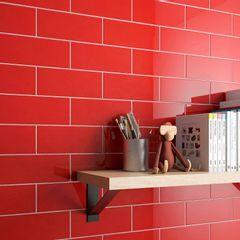 Revestimento-Ceramico-Incepa-Color-Retro-Vermelho-Brilhante-11x25