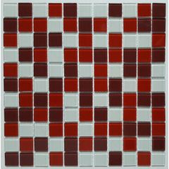Pastilha-de-Vidro-Glass-Mosaic-Cristal-Mix2516-Vermelho-Branco-Vinho-30x30
