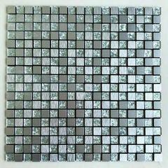 Pastilha-de-Aluminio-Glass-Mosaic-Metal-AL1011-Prata-Escovada-30x30