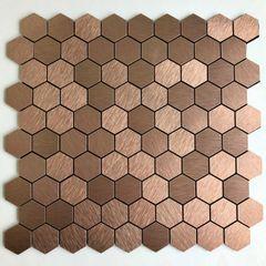 Pastilha-de-Aluminio-Glass-Mosaic-Metal-AL1014-Bronze-30x30
