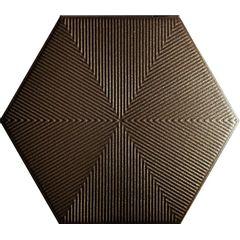 Revestimento-Ceramico-Ceral-Hexagonal-Connect-Brown-Brilhante-228